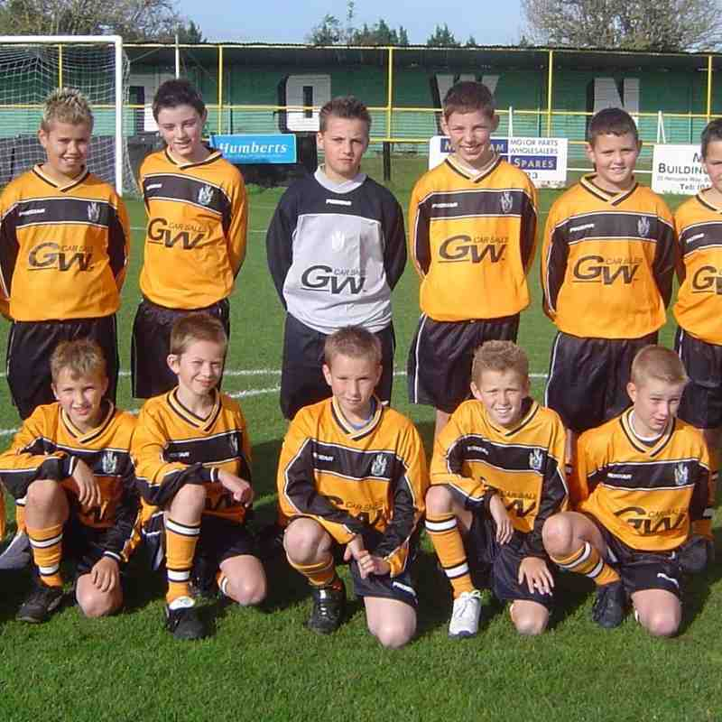 Archive Melksham Town Youth 2004 - 2005