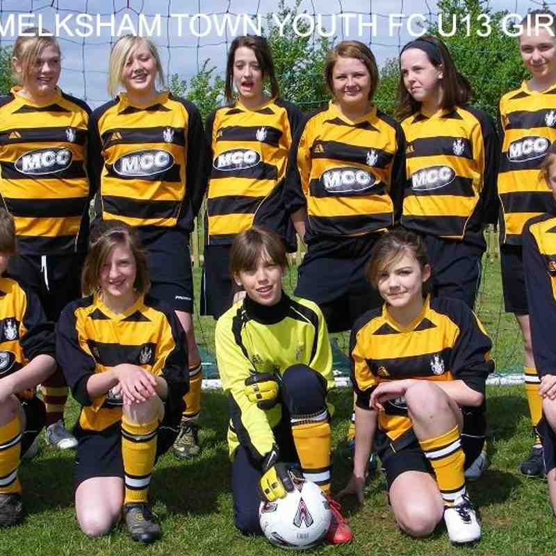 Archive Melksham Town Youth 2008 - 2009