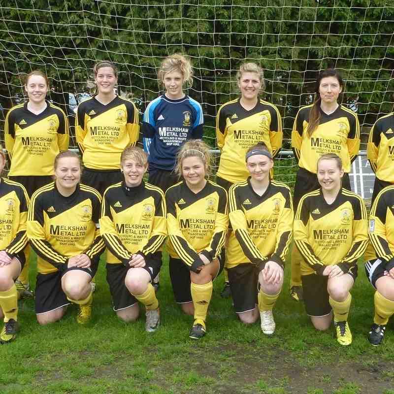 Melksham Town FC Teams 13-14