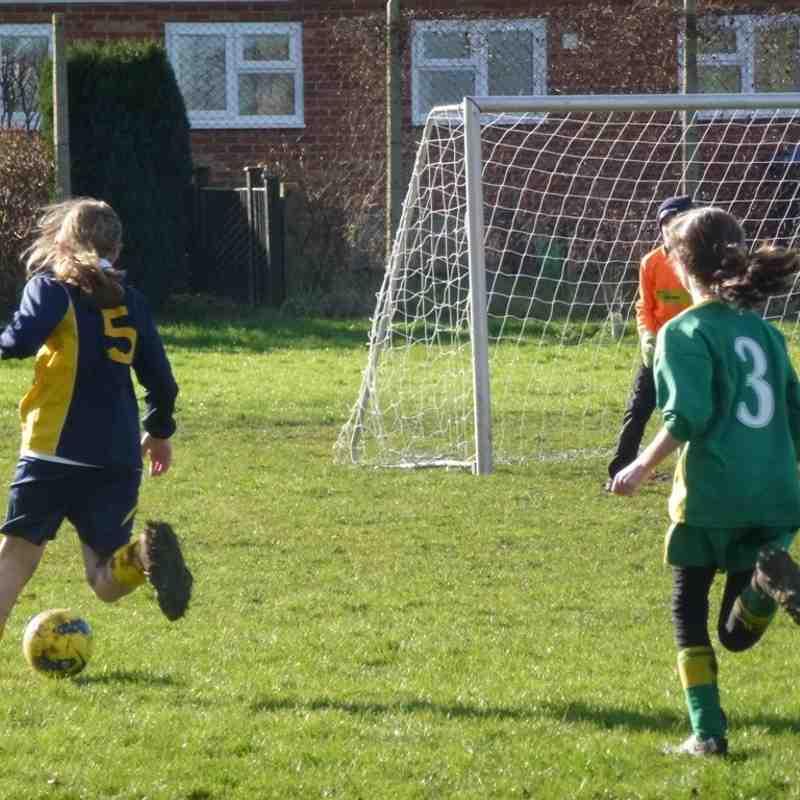 Melksham Town U16 girls 2012 - 2017