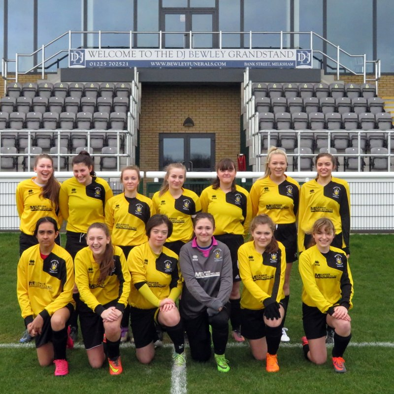 Melksham Town  FC 3 - 3 Frome Town Ladies Reserves