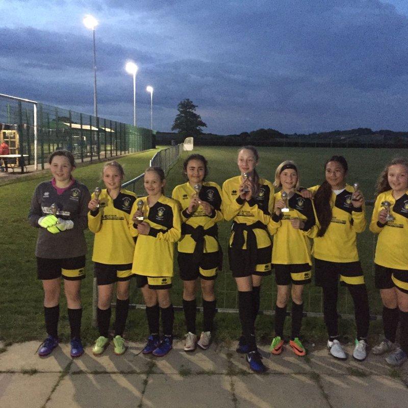 U12 Girls win at Chippenham Tournament