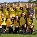 Under 12 Girls beat AFC Corsham 3 - 0