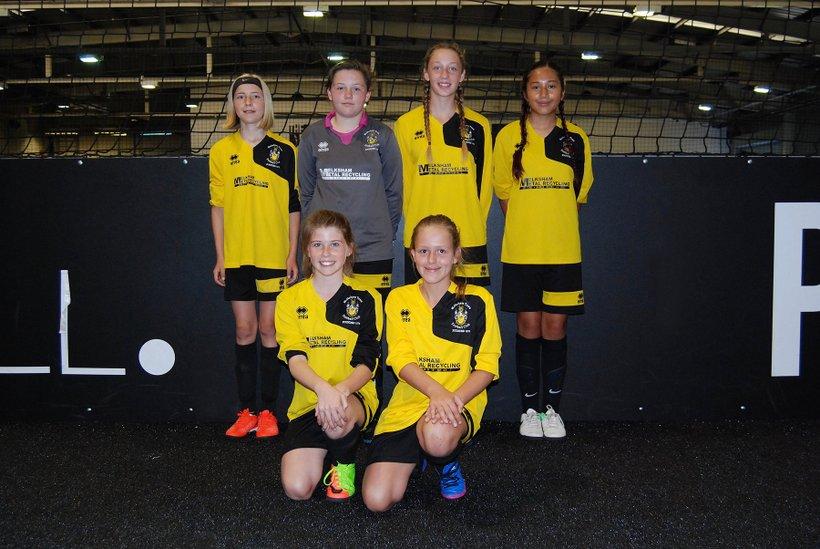 Melksham U12 Girls in National Futsal Finals - News - Melksham Town ... 6703f57c1d257