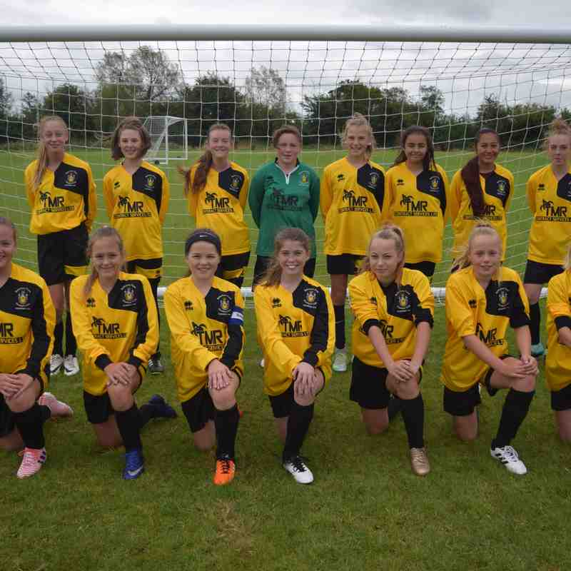 Melksham Town Girls Section 17 - 18