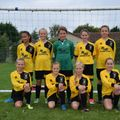 Under 11 Girls Black beat Frome Town Youth 10 - 0