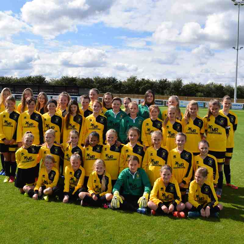 Melksham Town Girls Section 17 - 18