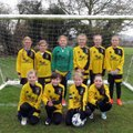Under 11 Girls Yellow lose to Marlborough Angels 1 - 1