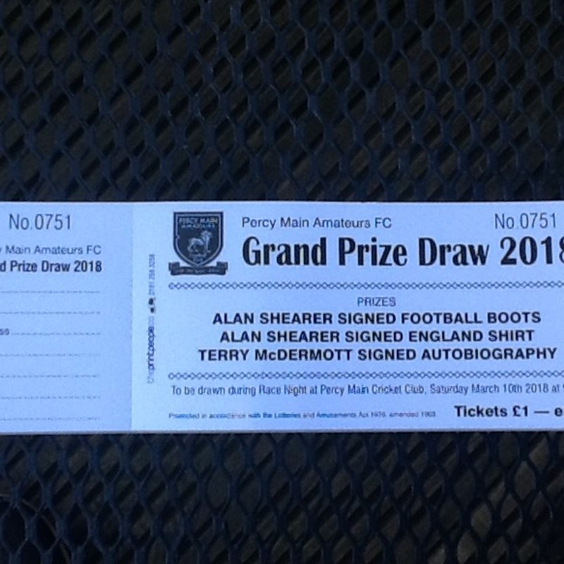 PMA 'Grand Prize Draw' and Race Night Fundraising event.