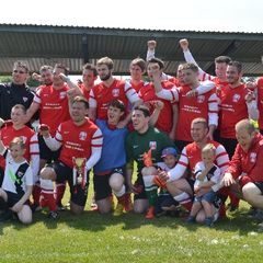 Basildon 4 - 2 FC Woodley - E Cambridge Cup Final 18.5.14