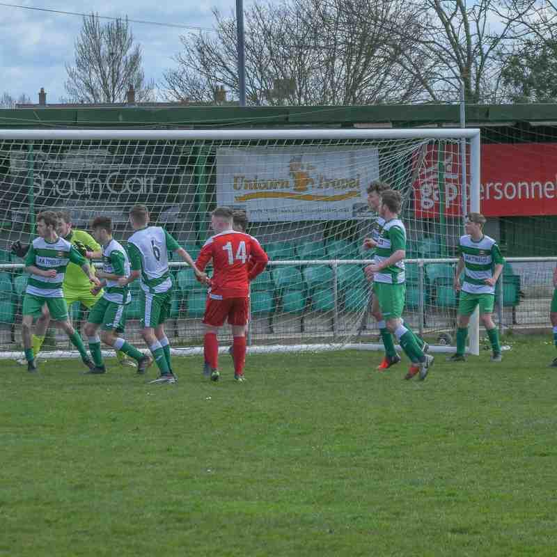 U19's  FC Brickfield 1 v 0 Holywell Town