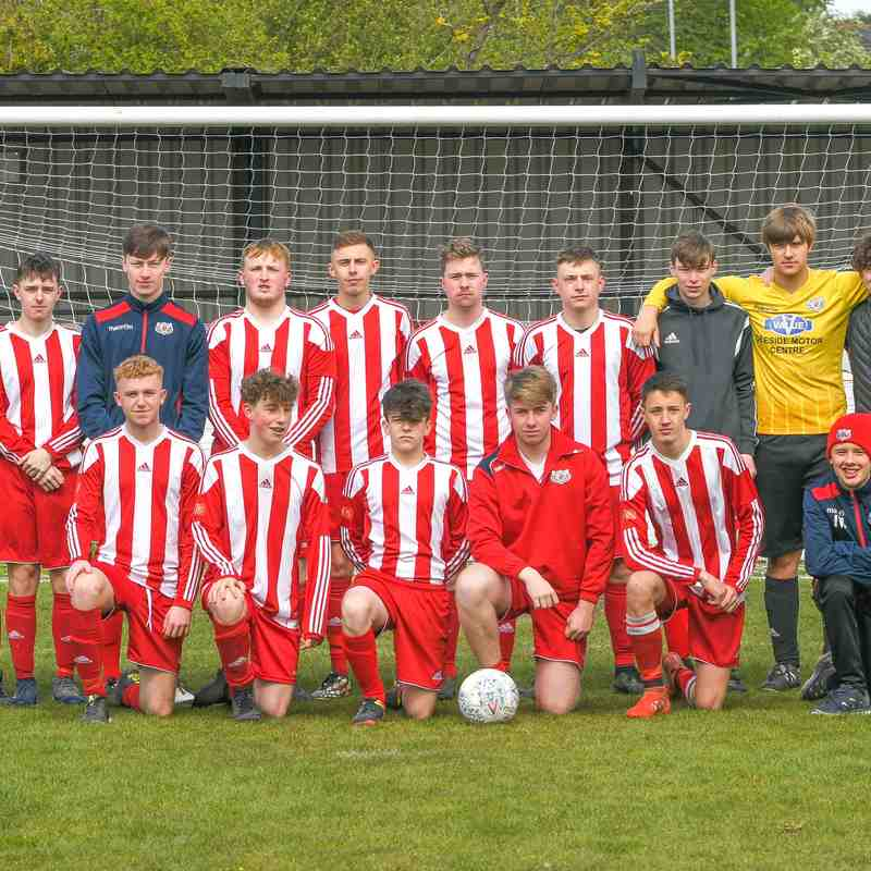 Holywell Town U19's 4 v 1 Llay Welfare Colts