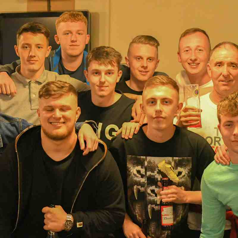 Presentation Night for Holywell U19's - Reserves & First Team 2018/19