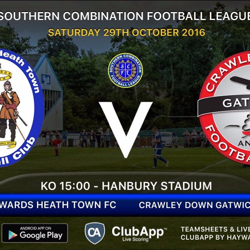 Next Match - Crawley Down Gatwick FC