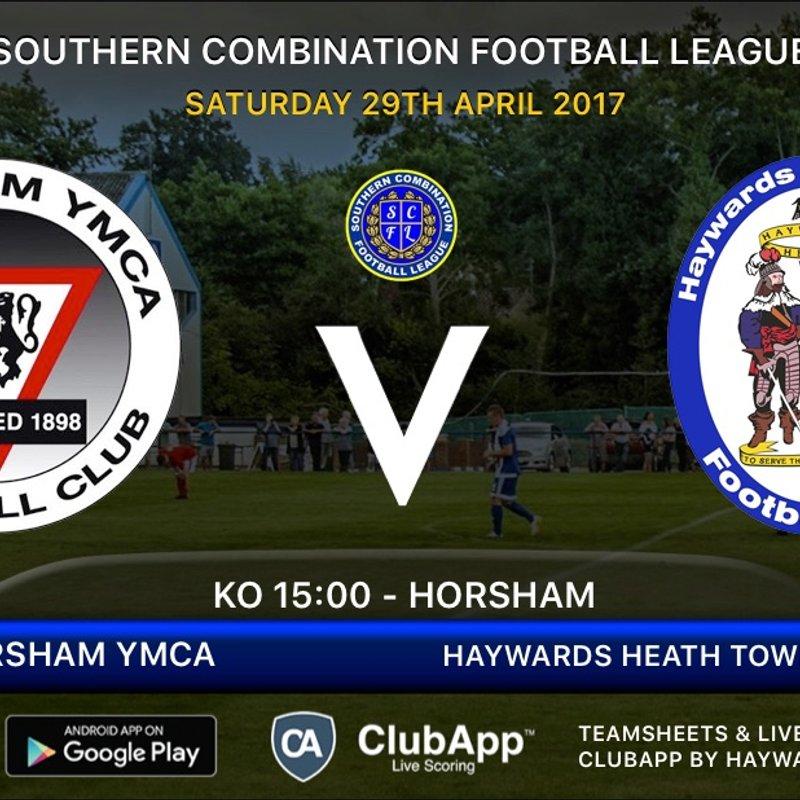 Final League Match 2016/17 - Horsham YMCA - Away