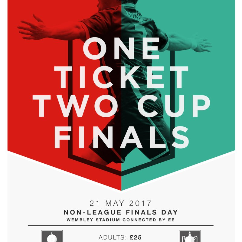The Buildbase FA Vase and The Buildbase FA Trophy Finals Day