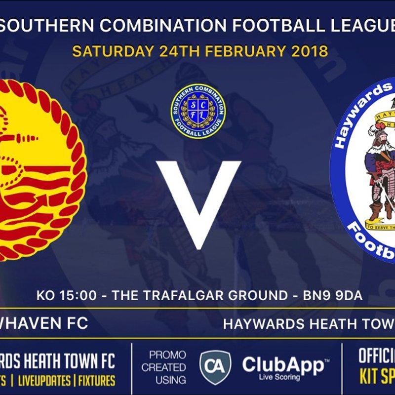 Next Match - Newhaven FC  - Away