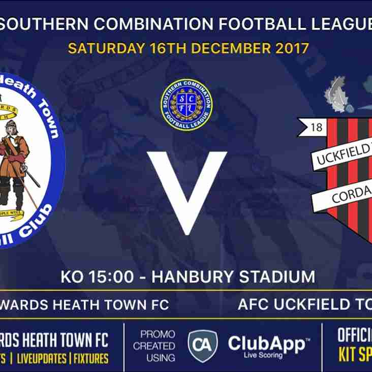 Next Match - AFC Uckfield Town  - Home - FREE ENTRY - Family/Charity Day