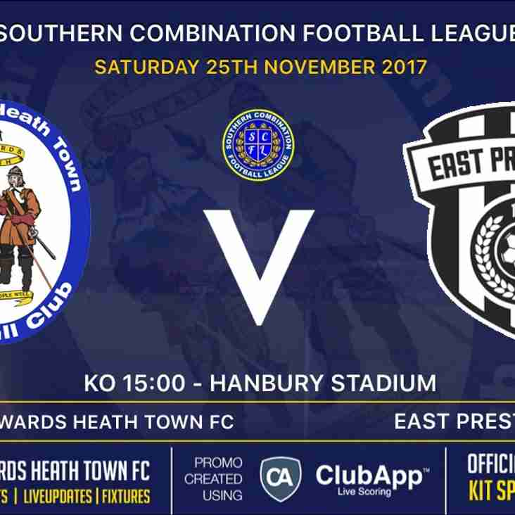 Next Match - East Preston FC - Home - SCFL Premier