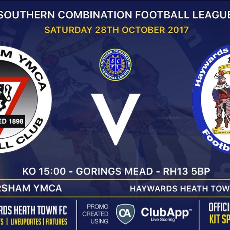 Next Match - Horsham YMCA  - Away