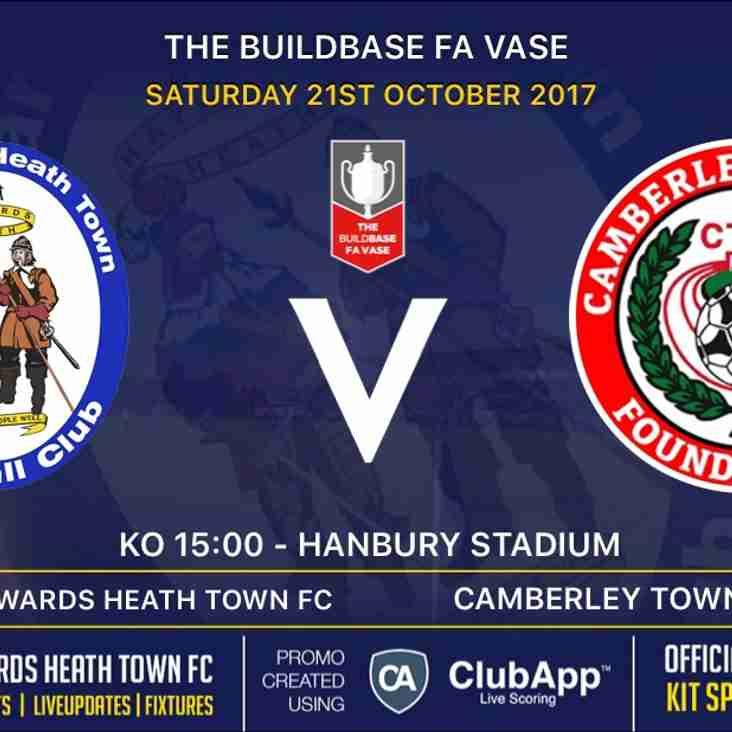 Next Match - Camberley TownFC - Home