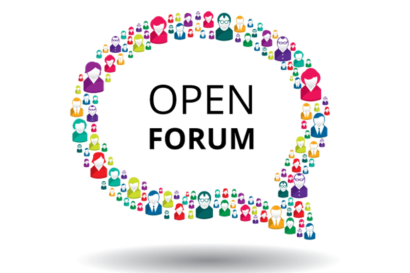 Open Forum - Friday 22nd February