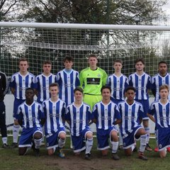 u18's Final Match Vs Hassocks by Tony Sim
