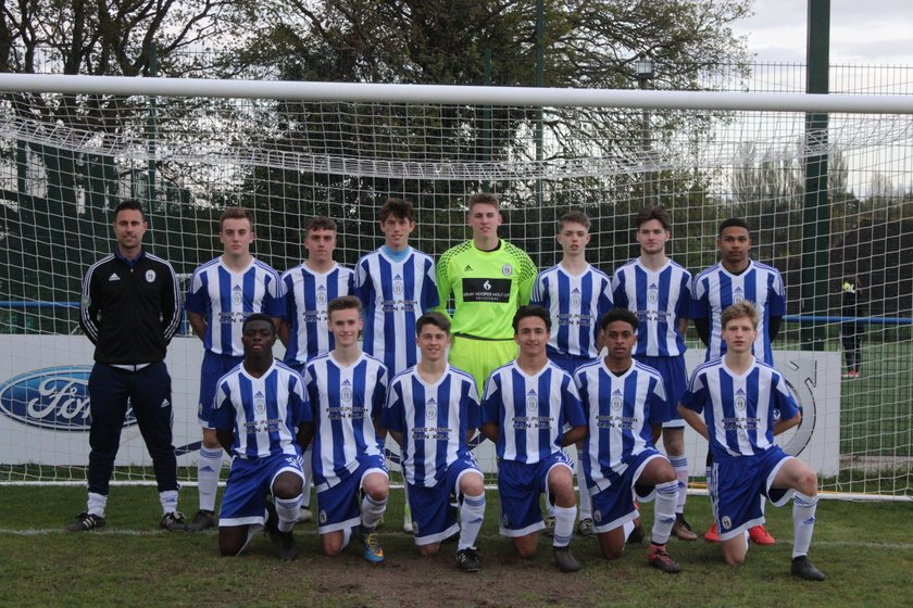 Under 18's SCFL beat Steyning Town (East) 2 - 6