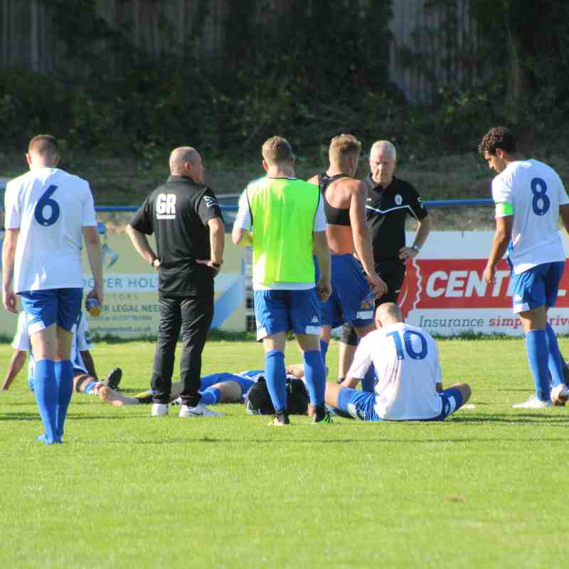Heath Vs Hythe Town 1st September by Tony Sim