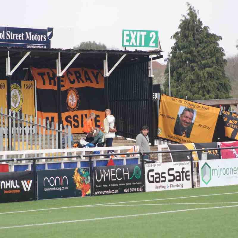 Heath Vs Cray Wanderers 23rd March 19 by Tony Sim