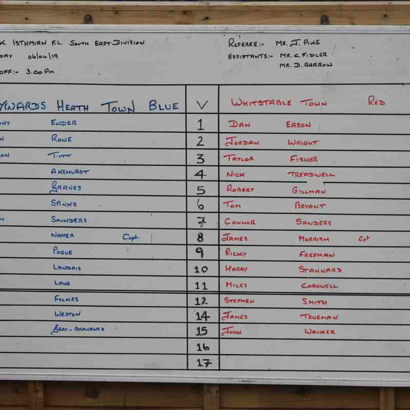 Heath Vs Whitstable Town 6th April 19 by Tony Sim