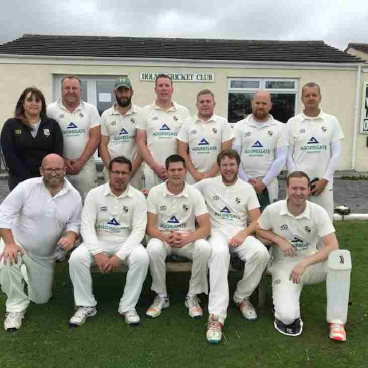 Holme CC will play in Division 1 this season