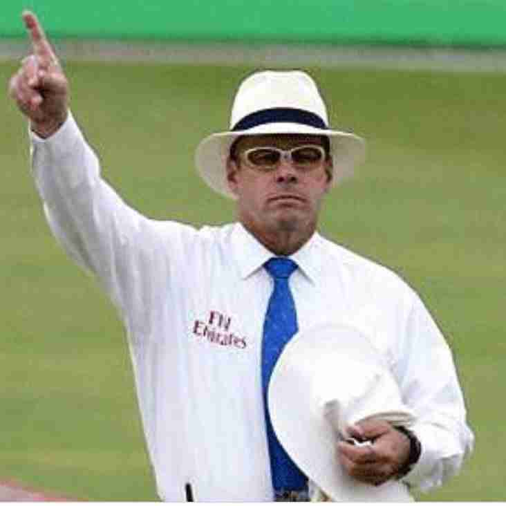 Umpire changes for the final week
