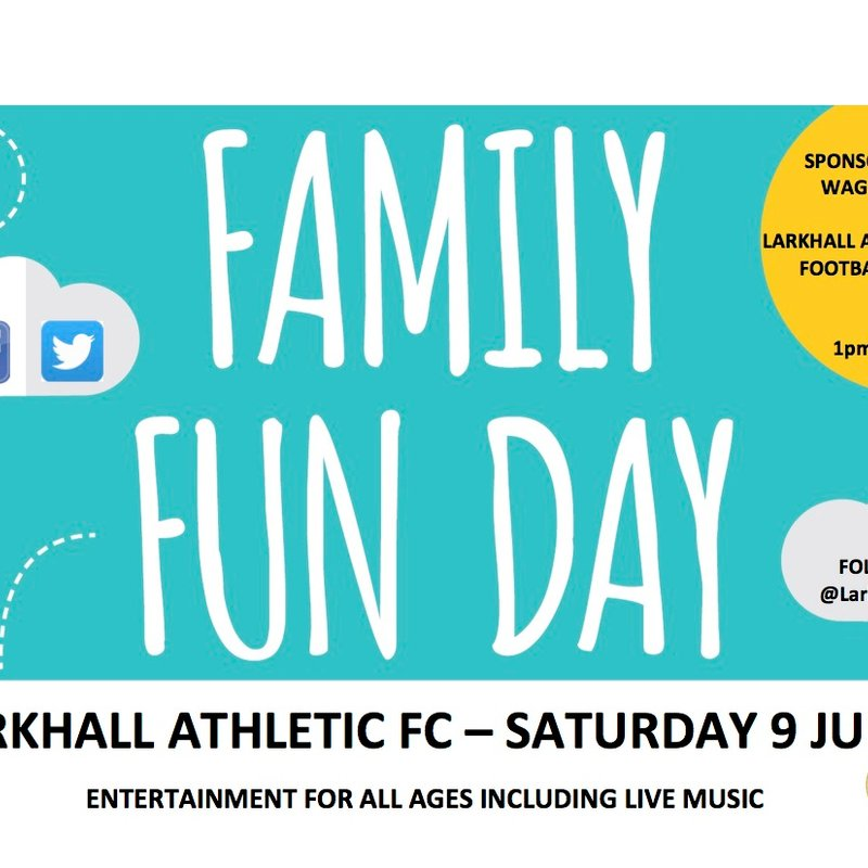 Larkhall Athletic Family Fun Day