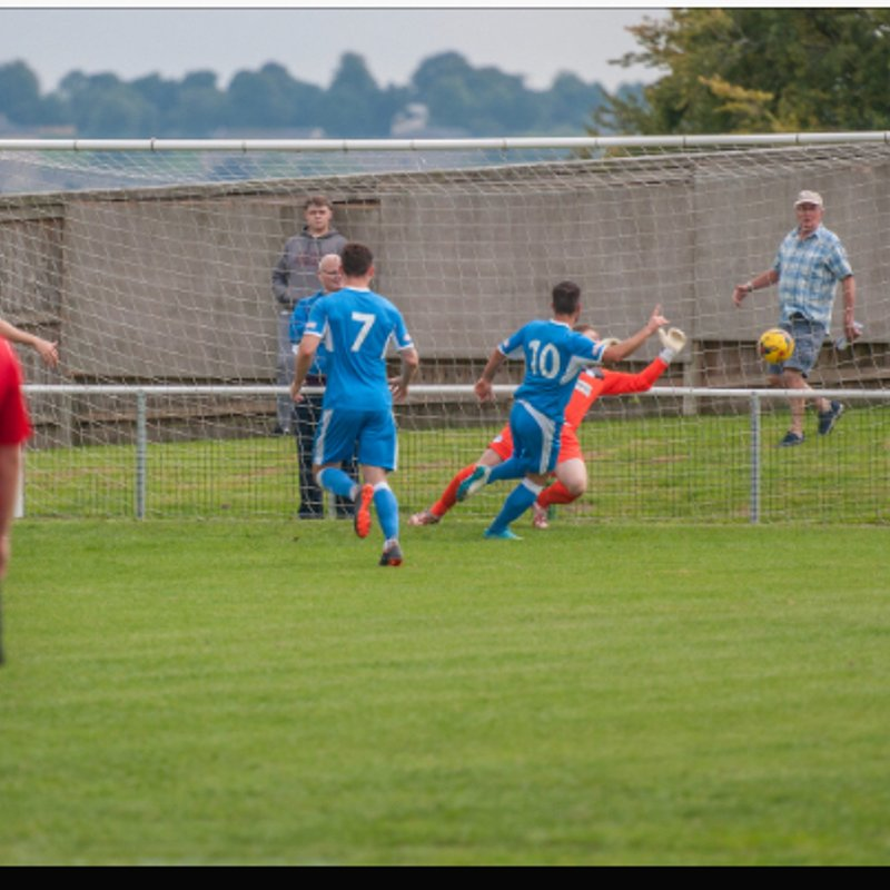 Larks soar above Kingfishers