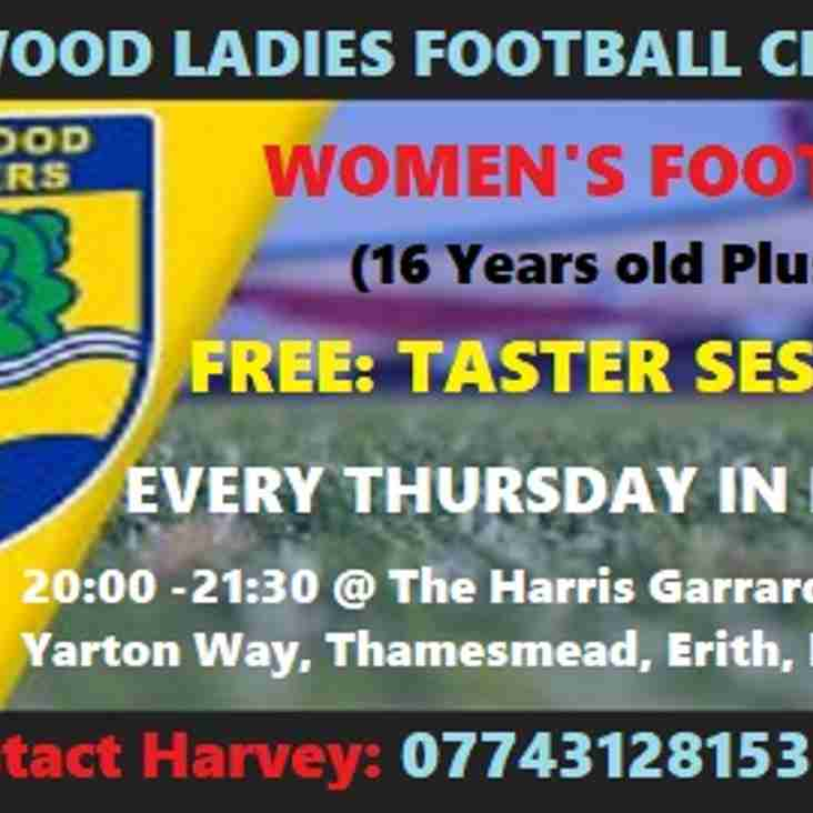 FREE WOMEN'S FOOTBALL IN THAMESMEAD - HAVE A GO TASTER SESSIONS