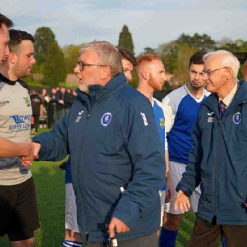 BARRY BUNDOCK WEST KENT  CHALLENGE SHIELD FINAL