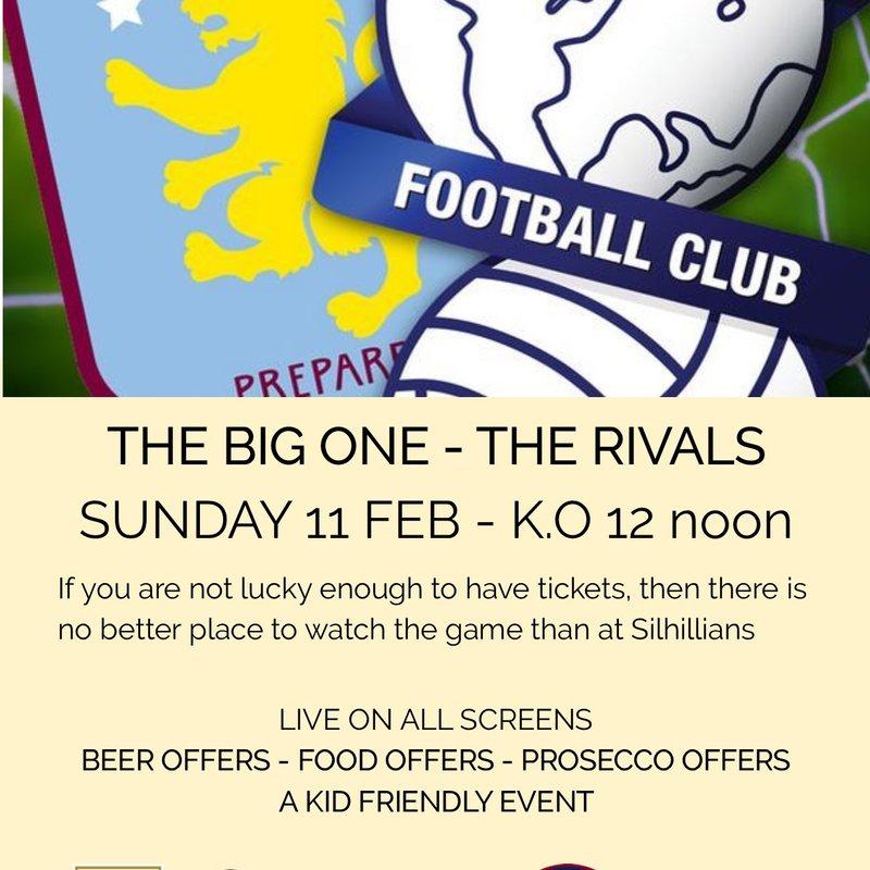 The Big Match - Villa v Blues