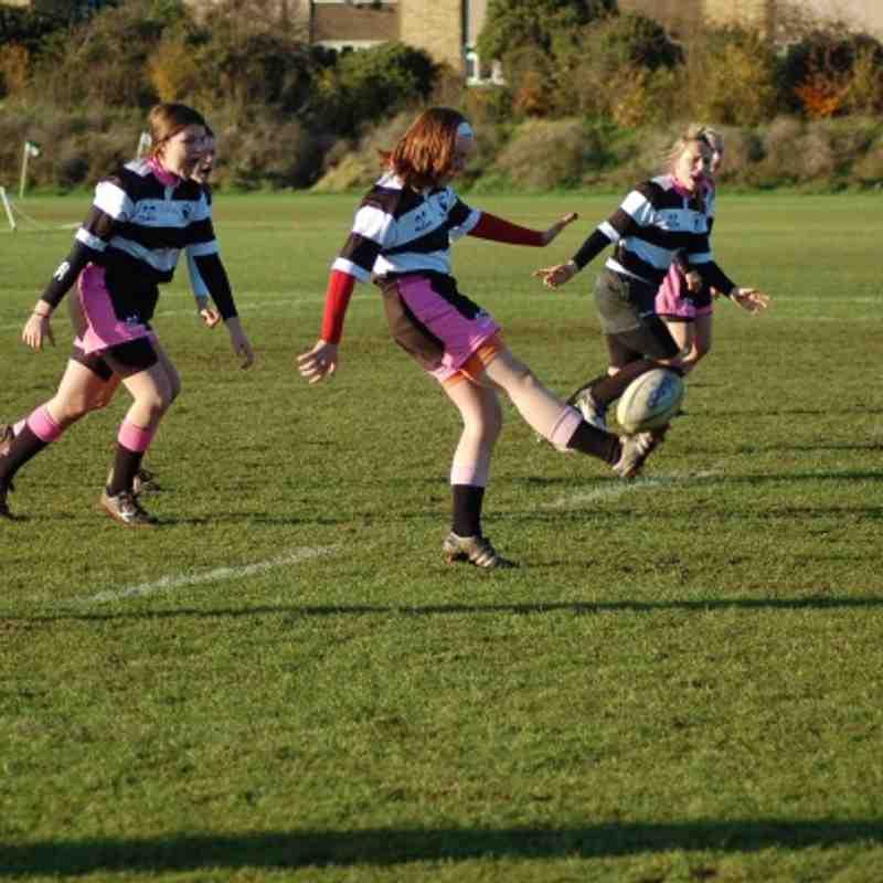 U15 girls at Ealing