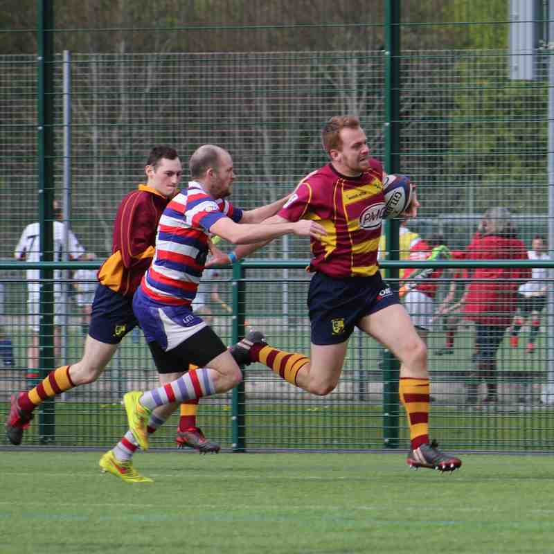 (Home) St. Brendan's Old Boys vs Bristol Aeroplane Co.