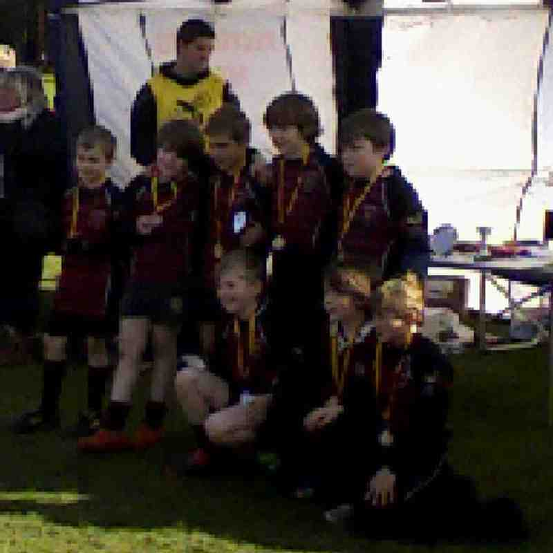 U10's Team Wasps Tournament 3rd Mar 12