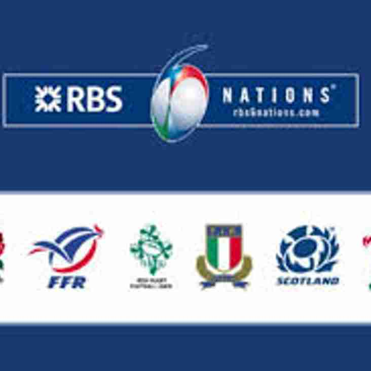 RBS Six Nations 2018 - Ticket application & ballot letter for paid-up Members