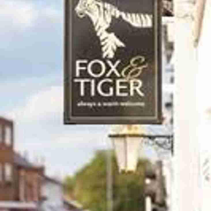 British and Irish Lions - Fox and Tiger, Blaby