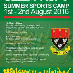 SUMMER SPORTS CAMP 2016