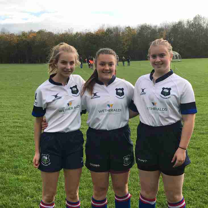 GIRLS COUNTY SUCCESS FOR SELBY RUFC