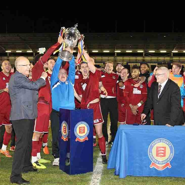 Dickson strike proves decisive as Clarets lift the BBC Essex Senior Cup
