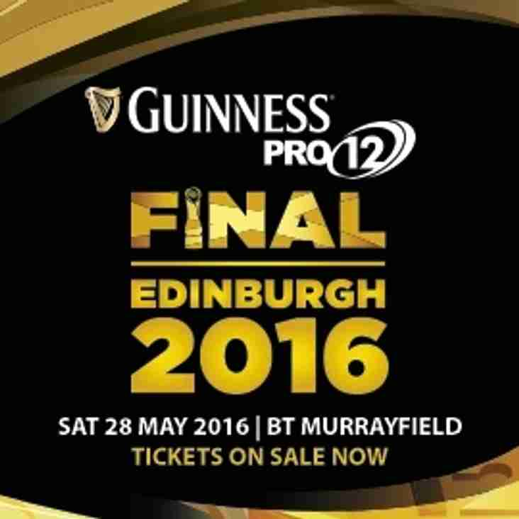 Pro 12 Final - Murrayfield - 28 May 2016