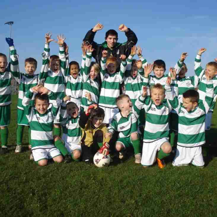 Under 7's do the Club proud