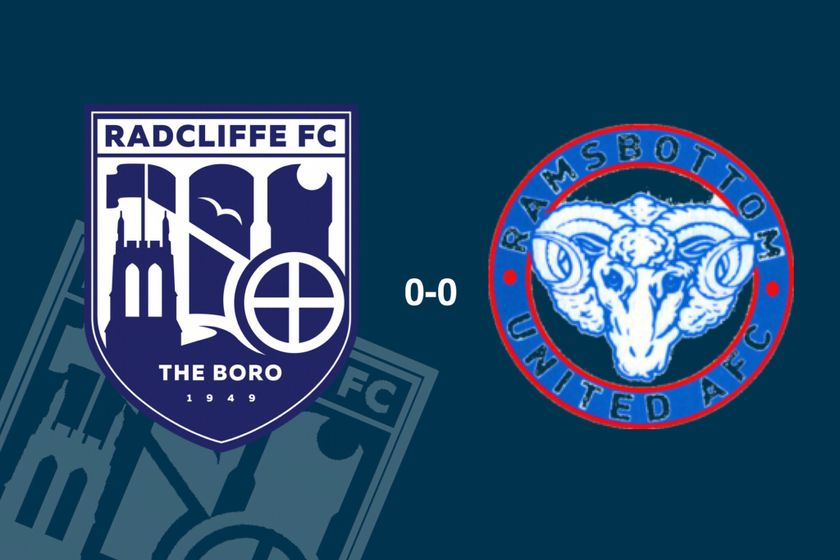 Radcliffe 0-0 Ramsbottom United: Derby deadlock bolted as Boro confirm second place