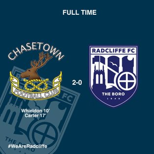 Boro's pre-play-offs fixture ends in Chasetown defeat